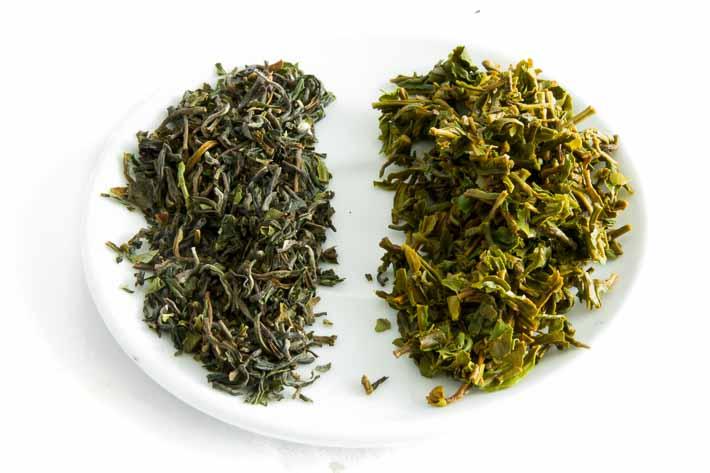 Assam Oodlabari - suchý a mokrý list