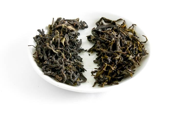 Bai Sha Xi Tianjian - suchý a mokrý list