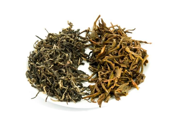 Bai Xue Long - suchý a mokrý list