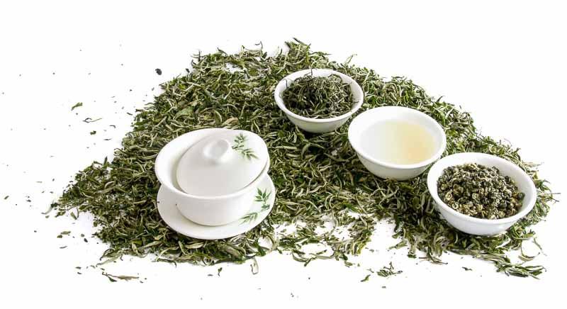 Degustační balíček zelených čajů