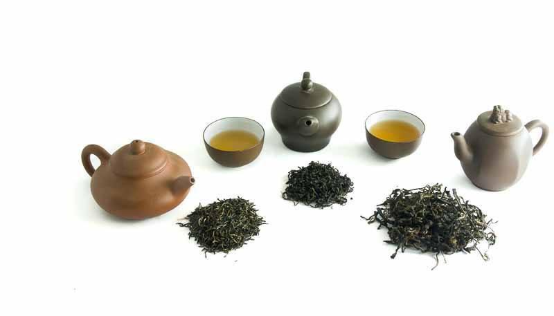 Degustační balíček černých čajů - zátiší