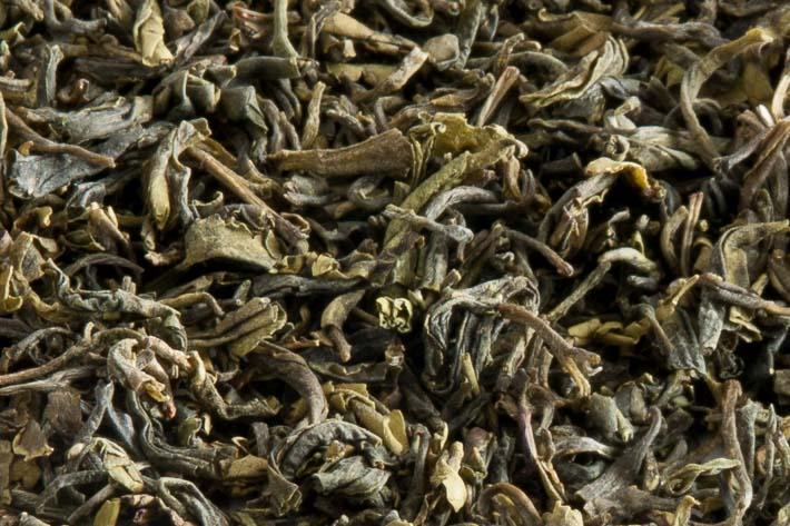 Zelený čaj z nepálského Ilamu - detail listu