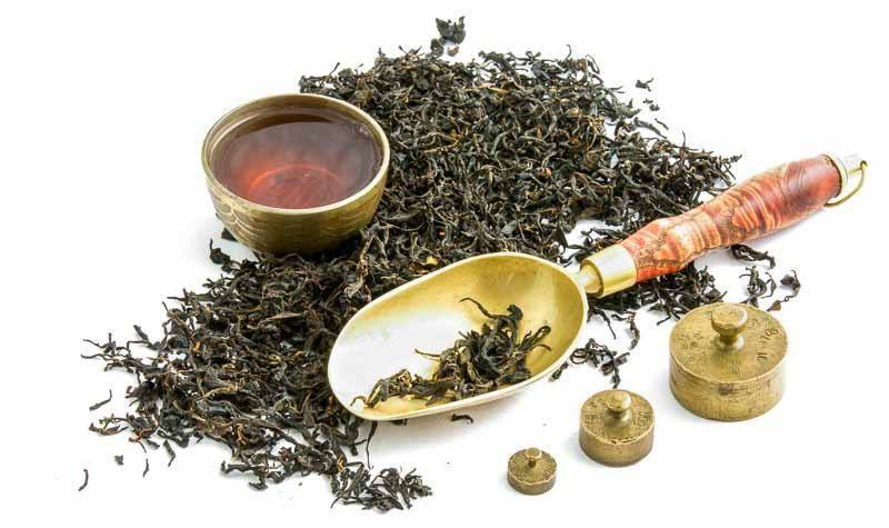 Gruzínský čaj od paní Ivanišvili