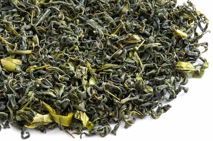 Gruzínský čaj od pana Iliji - list
