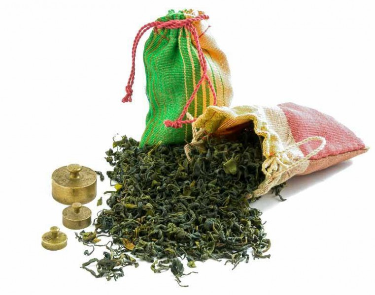 Gruzínský čaj od pana Iliji - zátiší