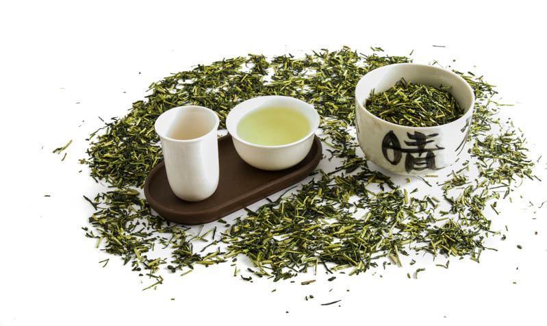 Japonský řapíkový čaj Kukicha
