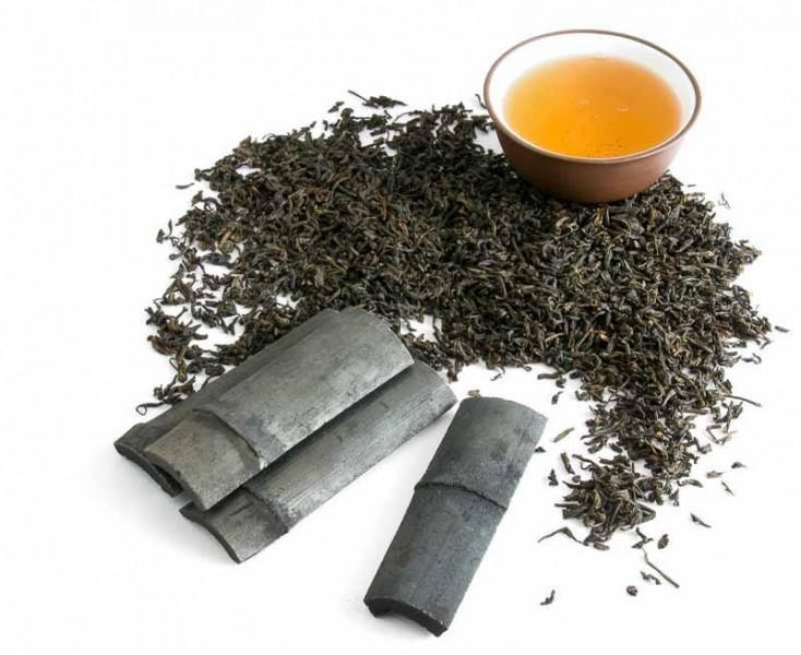 Nakuřovaný nebo též uzený čaj Lapsang souchong