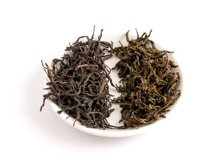 Mi Lan Xiang - suchý a mokrý list