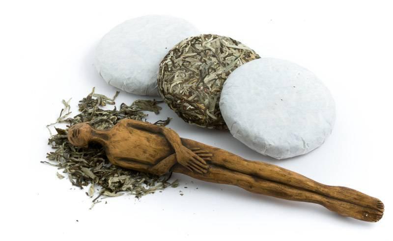 Bílý Puerh Ping Cha neboli Koláč ze stříbrných jehliček