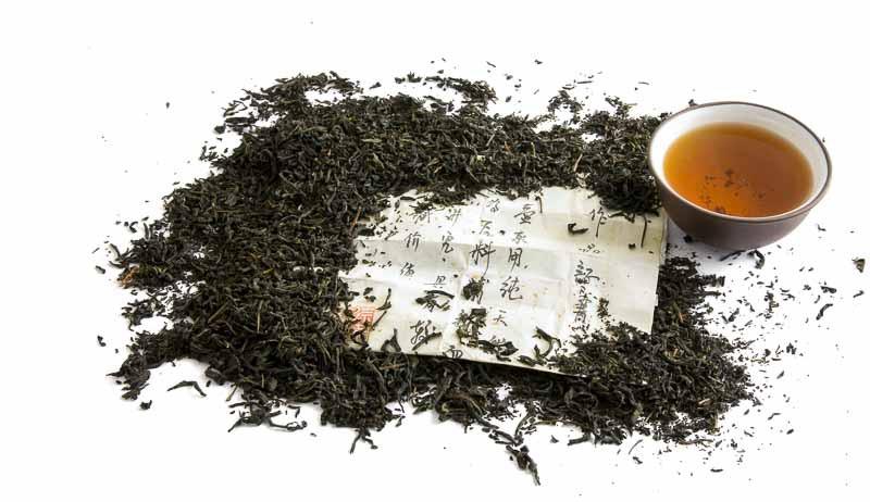 Černý čaj z Jakušimy - zátiší
