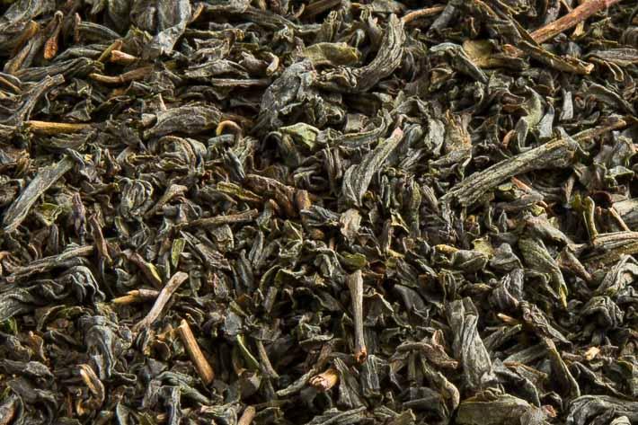 Černý čaj z Jakušimy - detail listu