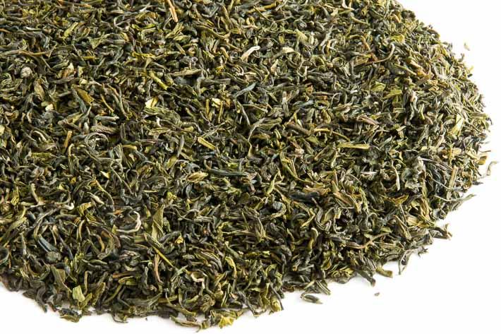 Zelený Assam - list