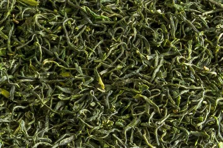 Zelený nefrit - detail listu