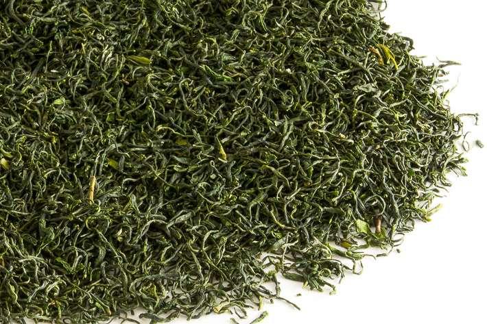 Zelený nefrit - list
